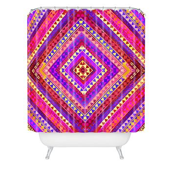 Jacqueline Maldonado Rhythm 3 Shower Curtain