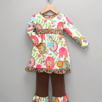 Brown Zoo Tunic & Pants - Toddler & Girls | Daily deals for moms, babies and kids