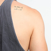 All that is Gold - Temporary Tattoo (Set of 2)