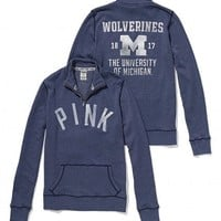 University of Michigan Half-Zip Pullover