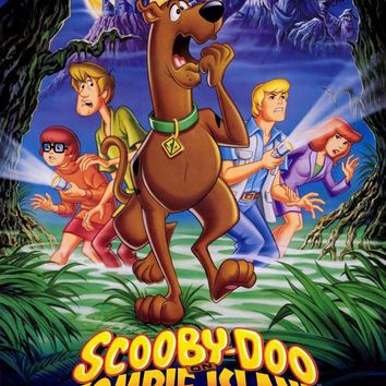 Scooby-Doo on Zombie Island 27x40 Movie Poster (1988)