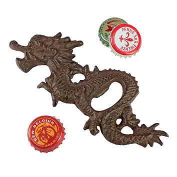 Park Avenue Collection Asian Dragon Bottle Opener