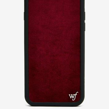 Wildflower Velvet iPhone 6 Case