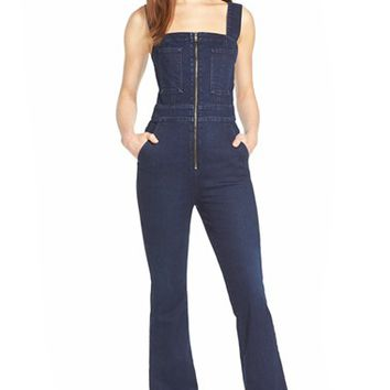Women's 7 For All Mankind Denim Jumpsuit ,