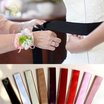 Womens Dress Sash's - Belts - Cummerbunds - 9 Colors for Bride or Attendants - Free Shipping