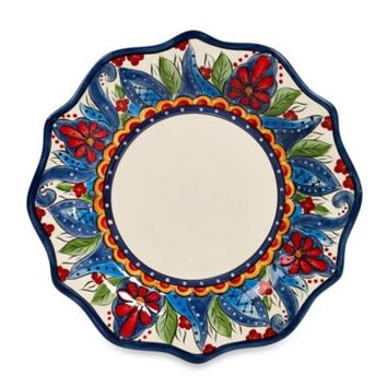 Tabletops Unlimited® Lucca 11.5-Inch Scalloped Dinner Plate