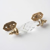 Rock Candy Handle by Anthropologie in Clear Size: One Size Knobs