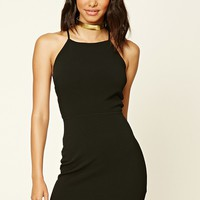 Ladder-Cut Bodycon Dress