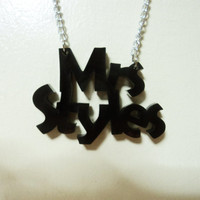 One Direction Necklace - Mrs Styles