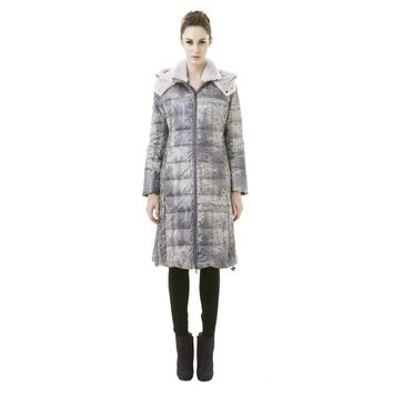 Wool Faux Fur Coat