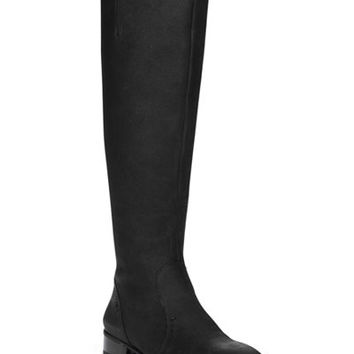 Nine West Nicolah Block-Heel Tall Boots - Boots - Shoes - Macy's