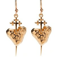 Kimberly Baker Vera Earrings, Gold - $120.00 : {Far4}, Seattle Home Decor