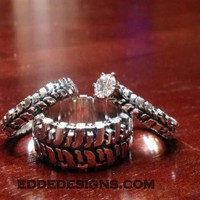 Wedding set (3 rings)