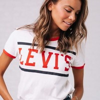 Levi's Perfect Ringer Tee - cladandcloth