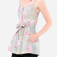 Paul & Joe Sister TamTam Chintz Romper $79