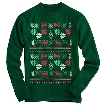 Frozen Ugly Christmas Sweater