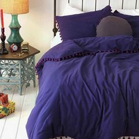 Magical Thinking Pom-Fringe Duvet