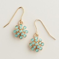 Pacific Opal Dots Drop Earrings