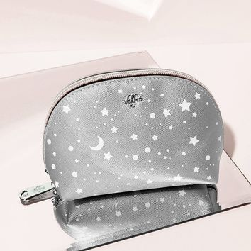 Across the Universe Cosmetic Bag (Metallic)