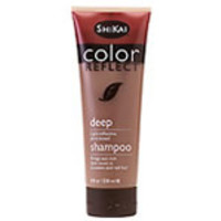 ShiKai Color Reflect Shampoo - Deep (Brings out rich dark tones in brunette and red hair) 8 fl. oz.