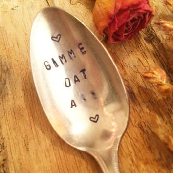 Censored Gifts, Hand Stamped Spoon, Dirty Gift, Naughty Gifts, Gifts for Lovers, Gag Gifts, Gag Gifts, Adult Gifts, Adult Christmas Gifts