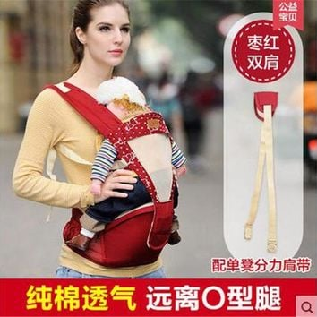 Toddler Backpack class Hipseat Baby Comhoney Ergonomic Re-hold Infant Backpack Carrier For Baby Care Toddler Sling Kangaroo Baby Suspenders For Newborn AT_50_3
