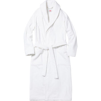 Supreme: Supreme/Frette® Terry Bathrobe - White
