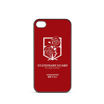Attack on Titan Stasionary Guard Logo iPhone 4 / 4s Case