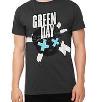 Green Day Skull Slim-Fit T-Shirt | Hot Topic