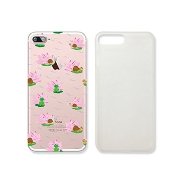 Cute Frog Clear Transparent Plastic Phone Case/Phone Cover for iphone 7 _ SUPERTRAMPshop (iphone 7)