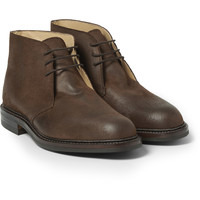 George Cleverley - Nathan Suede Chukka Boots | MR PORTER
