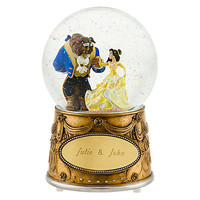 Disney Beauty and the Beast Snowglobe - Personalizable | Disney Store