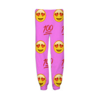 Pink Emoji created by trilogy-anonymous | Print All Over Me