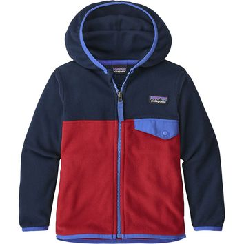 Micro D Snap-T Fleece Jacket - Toddler Boys'