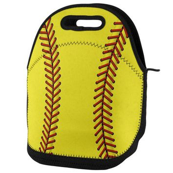 DCCKIS3 Softball Lunch Tote Bag