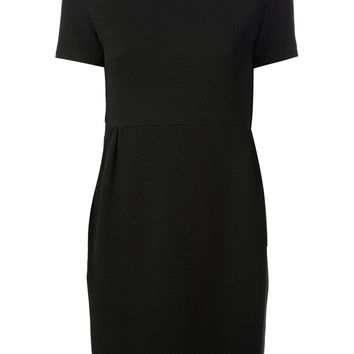 Red Valentino woven collared dress
