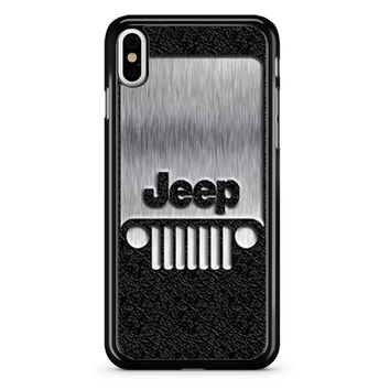 Steampunk Jeep 2 iPhone X Case