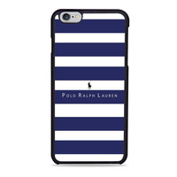Polo Ralph Lauren Blue White Stripes fashion Iphone 6 Cases