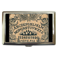 Multiple Listing: Cigarette Cases by Shayne Of The Dead, Ouija Board, Day of the Dead, Sugar Skulls, Gothic art