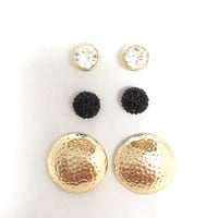 Three Seasons Stud Earrings Set