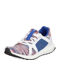 adidas by Stella McCartney Ultra Boost Knit Trainer Sneaker, Blue/White