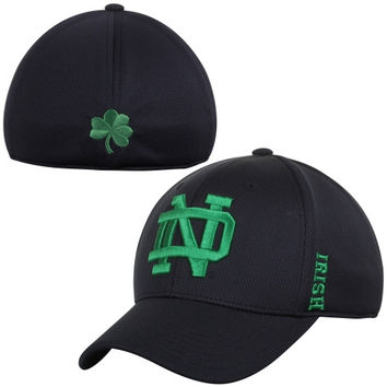 Notre Dame Fighting Irish Top of the World Booster Memory Fit Flex Hat - Blue