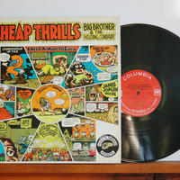 1968 Cheap Thrills, Janis Joplin, Big Brother and the Holding Company, Live, Gatefold Cover, Blues Rock, Psychedelic Rock, Piece of My Heart