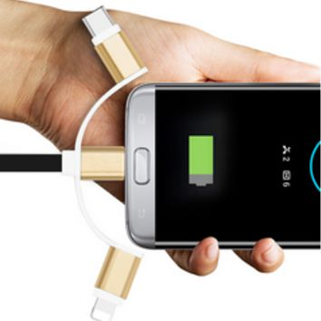 3 in 1 Cable.. Charge 99% of the Gadgets in the World