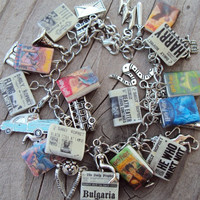 The ULTIMATE HARRYPOTTER Books Fringe Charm Bracelet