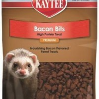 Kaytee Bacon Bits High Protein Ferret Treat 3oz