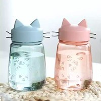 Kawaii Cat Drinking Bottle