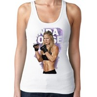 Ronda Rousey Expendables 3 Womens Tank Tops