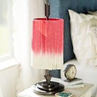 Junk Gypsys Follow Your Arrow Fringe Table Lamp