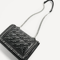 QUILTED LEATHER CROSSBODY BAG DETAILS